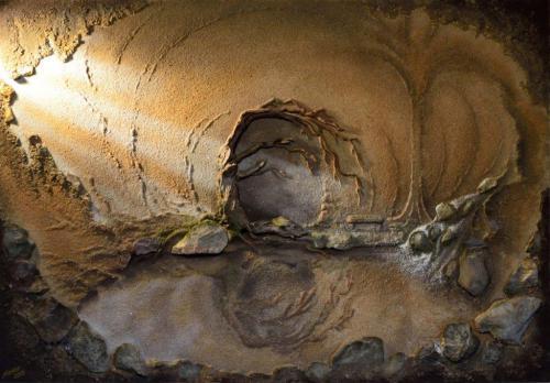 'Vergessene Welten' von Sandmalerin