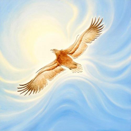 'Freiheit' von Sandmalerin