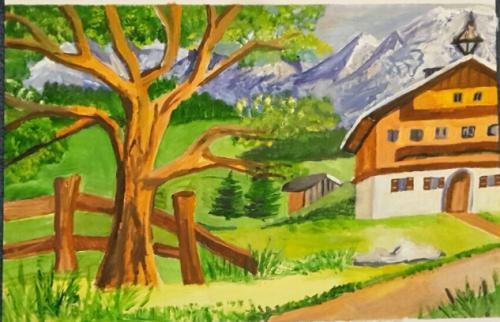 'ALPENBILD' von HBaetke