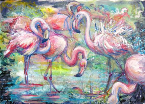 'Alltag der Flamingos' von  ansehen
