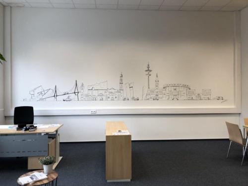 'Hamburger Skyline über 6 Meter lang' von  ansehen