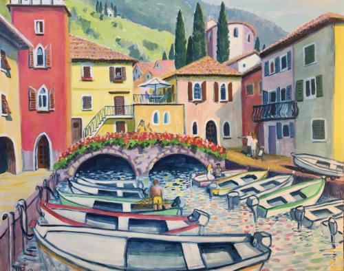 'Hafen von Cassone am Gardasee' von Mag.Theol. ansehen