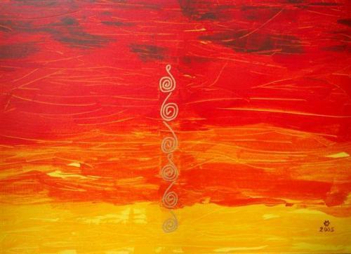 'Sonnenuntergang 2' von  Manfred Weitl
