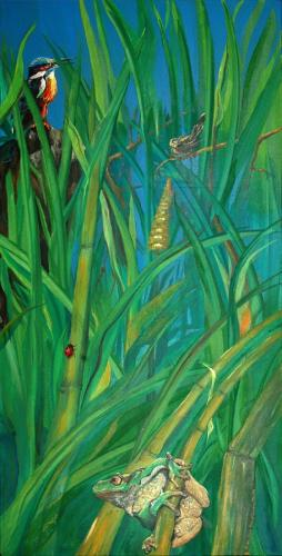 'Impressionen an den Linumer Teichen' von  Karla Maria Hinze