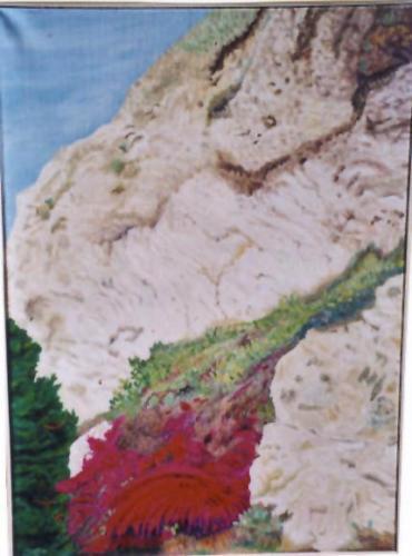 Blutsturz des Gebirges