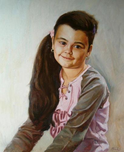 Porträt eines Mädchen