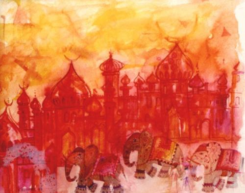 Die rote Stadt
