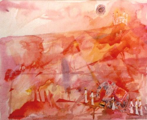 Die rote Wüste