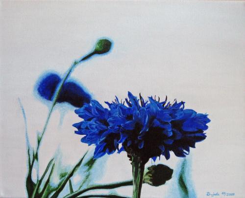 Blaues Korn