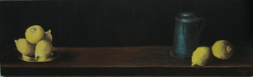 Nr.13  Fuenf Zitronen mit Krug