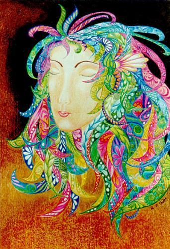 'Die Träumerin' von  Regina Rau
