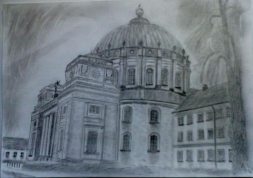 'Dom in St. Blasien' von  Arnold Speier