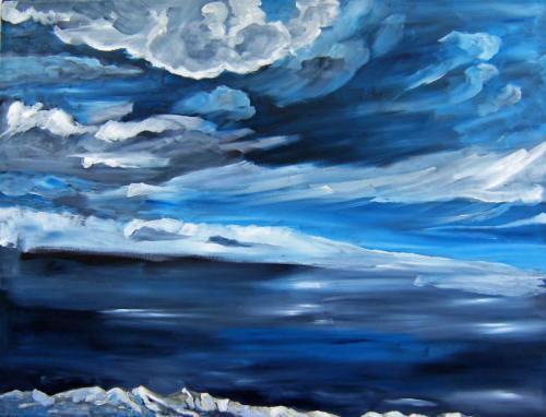 Sturm in der Nacht