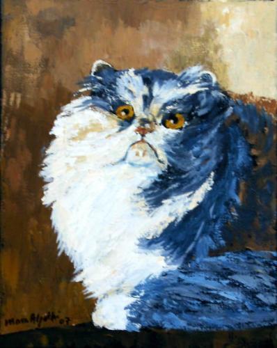 Spitzwegs Katze