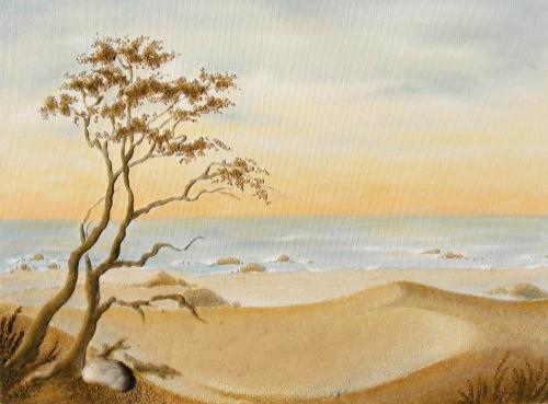 'Sanddüne' von  Sandmalerin