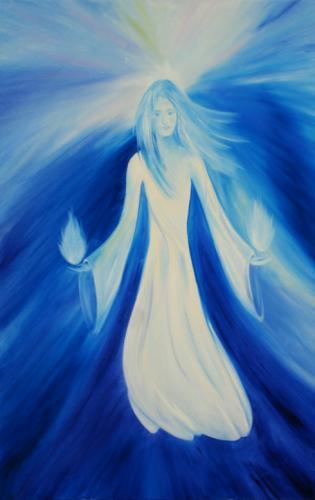 Engel in blau (Engel der Wahrheit)