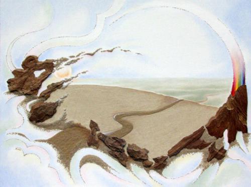 'Way to heaven' von Sandmalerin