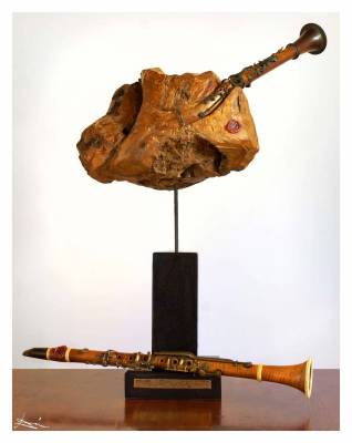 UNUSUAL APPEARANCE OF THE BIRTH OF A CLARINET