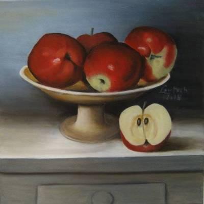 Nr.191  Rote Äpfel