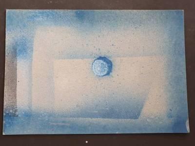 Rückseite: HIJO DE  Vorderseite: LA LUNA