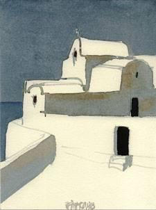 Kapellen auf Santorin
