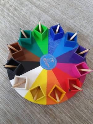 Das einzigARTige Farbenkarussell Design No.1 Original