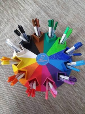 Das einzigARTige Farbenkarussell Design No.2 Original