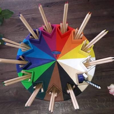 Das einzigARTige Farbenkarussell Design No.3 Original