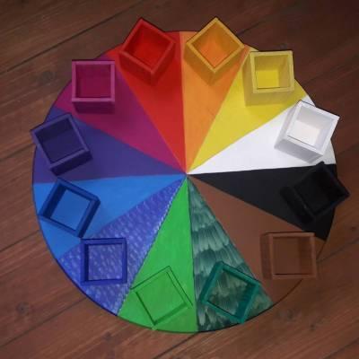 Das einzigARTige Farbenkarussell Design No.4 Original