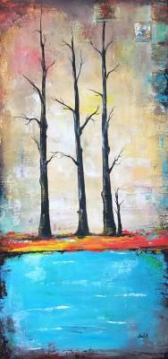 Drei Pappelbaum