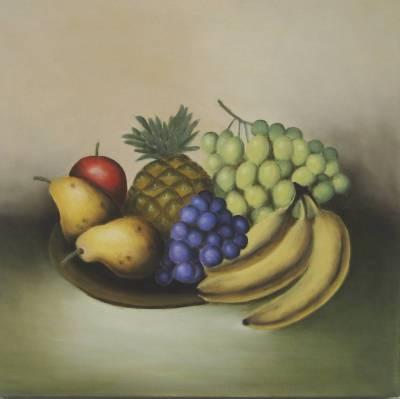 Nr.209 Teller mit Obst