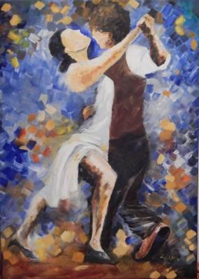 Romantische Tanzen