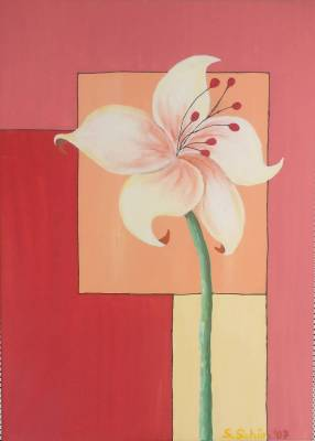 Lilie beige