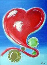 Herz in Auflösung