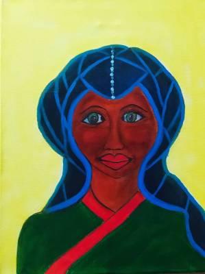 Frau orientalisch