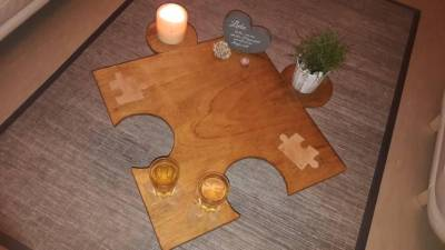 Whiskey Tisch feel freestyle Puzzle Collection