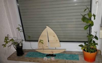 Segelschiff Holz.... Kunst Bild oder Deko