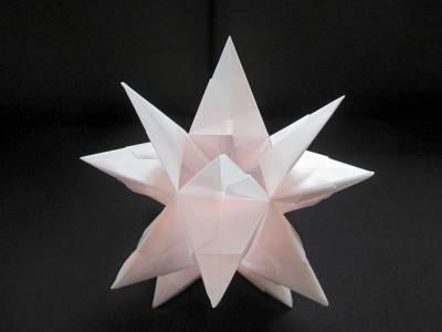Sternen Lampe Teelicht Papier