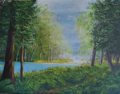 Auenwald am Fluss