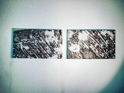 Braun, Grau und Weiß