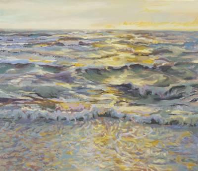 Wellen - gelbes Licht
