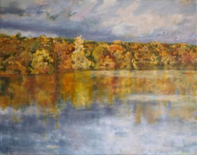 Seeufer im Herbst