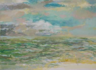 Am Meer 2 (von Triptychon)
