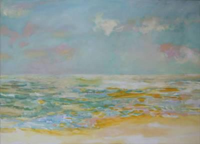 Am Meer 3 (von Triptychon)