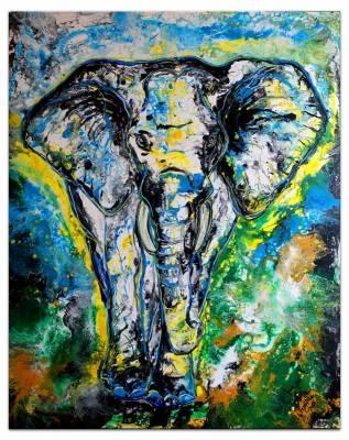 Elefant - Elefantenbulle