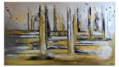 Luxus Stadt - moderne Malerei
