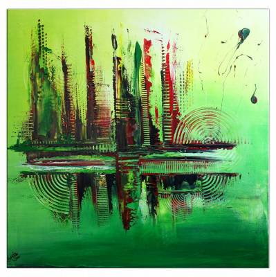 Metropolis - abstraktes Bild