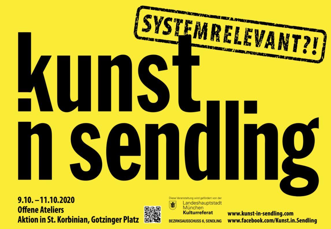 systemrelevant?! Kunst in Sendling 2020