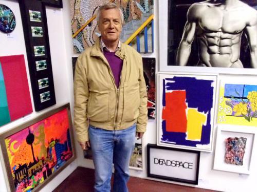Ausstellung 'MACHT KUNST 2013' von Volker Franzius