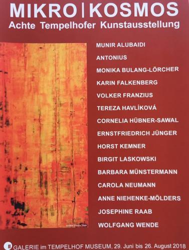 Ausstellung 'Achte Tempelhofer Kunstausstellung 2018' von Volker Franzius